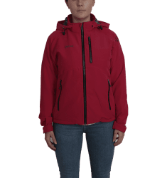 Moss Jkt wmn Strawberry