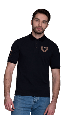 Laurel 17 Polo Black