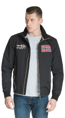 Oslo Jacket Black